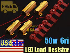 4x 50W Load Resistor 6 ohm Fix LED Fast Hyper Flash Turn Signal Blinker F