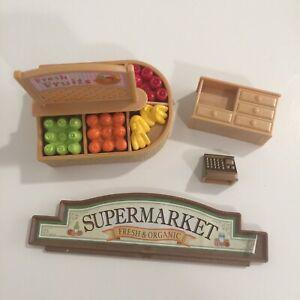Sylvanian-Families-Calico-Critters-Supermarket-Replacement-Pieces-Parts-Lot