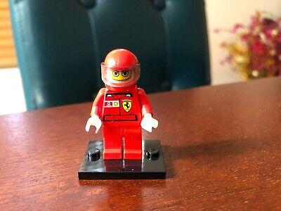 Lego F1 Ferrari Pit Crew Member Stickers rac025s Minifigures Racers