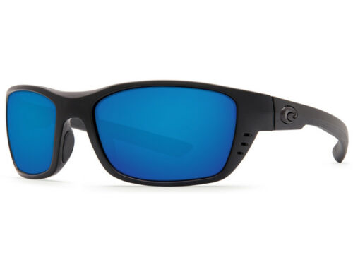 NEW Costa Del Mar WHITETIP Blackout /& 580 Blue Mirror Glass 580G