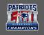 New-England-Patriots-2019-Super-Bowl-LIII-53-Champions-Decal thumbnail 1