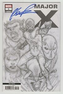 Major-X-1-3rd-Print-1-25-Sketch-Variant-SIGNED-by-Rob-Liefeld-Marvel-2019
