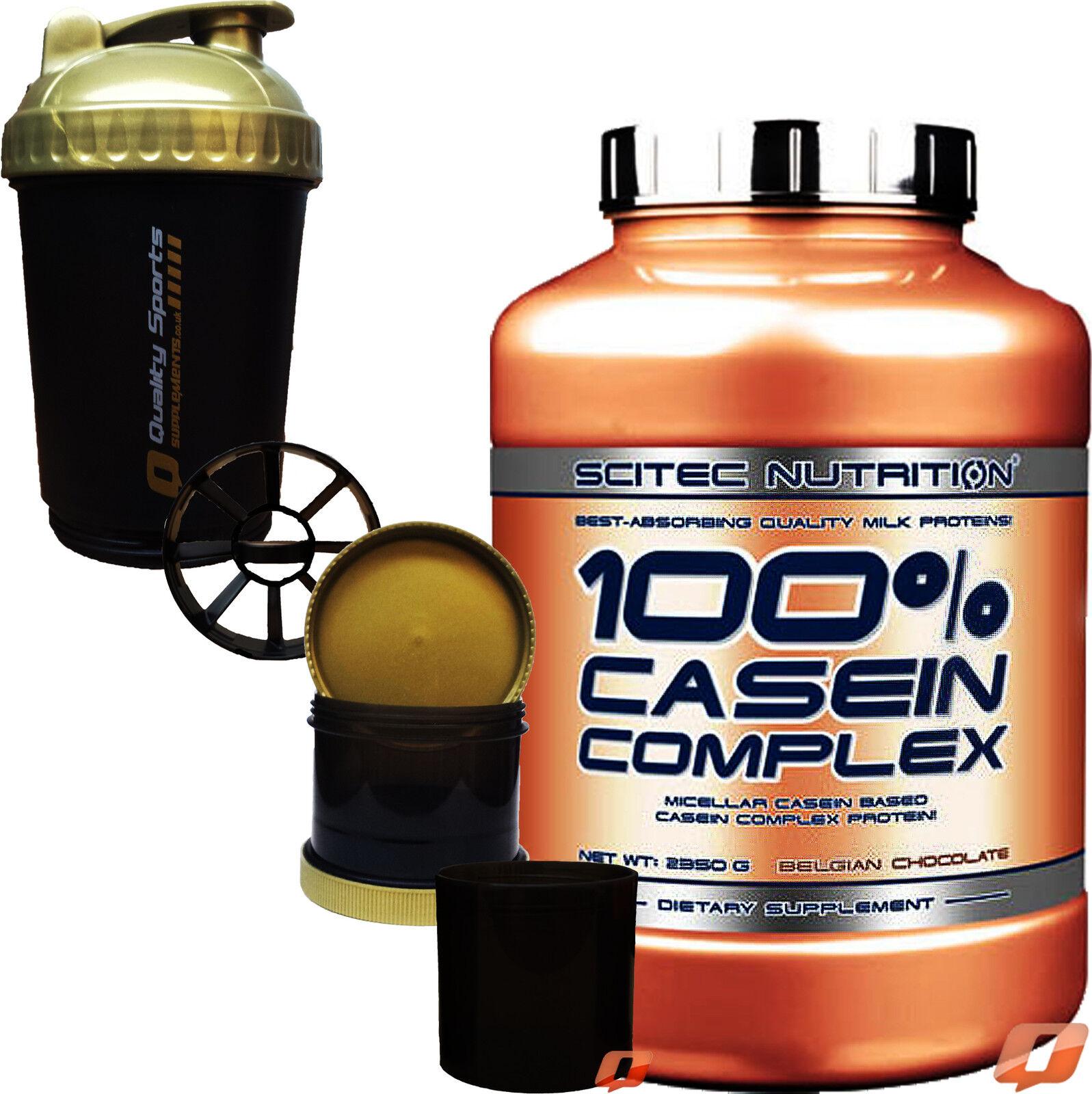 SCITEC 100% CASEIN COMPLEX 920G / 2,3KG / 5KG MICELLAR CASEIN LOW FAT&CARBS +SMA