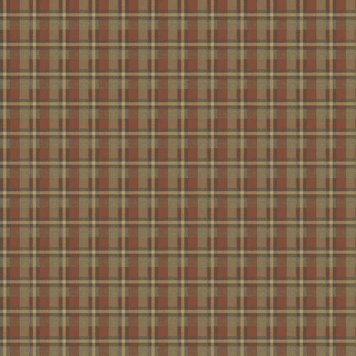 Chesapeake Heritage plaid Papier Peint-DOUBLE Rouleau