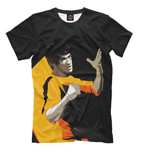 Bruce-Lee-T-Shirt-legendaire-Fighter-Jun-Fan-karate-Kung-Fu-T-shirt-Ju-jitsu-judo