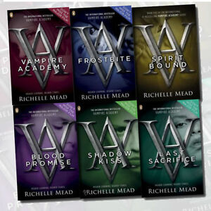 Details about Vampire Academy Collection Richelle Mead 6 Books Set (Last  Sacrifice) New Pack