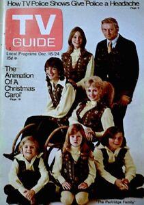 TV-Guide-1971-The-Partridge-Family-David-Cassidy-Susan-Dey-Shirley-Jones-VG-COA
