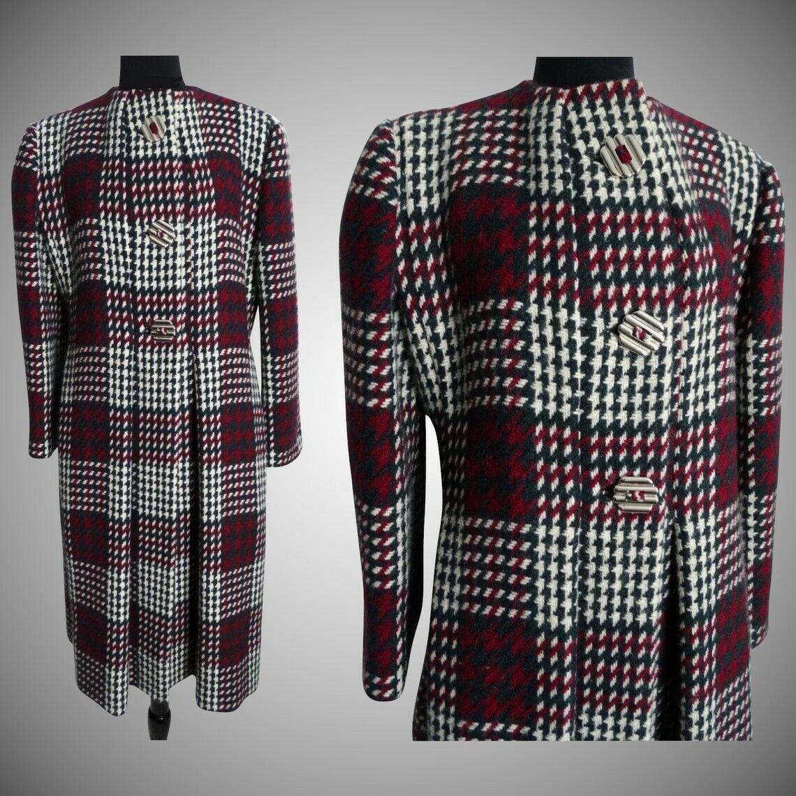 Vintage Pauline Trigere Coat   Designer Coat   Wi… - image 6