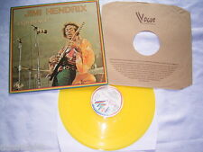 LP - Jimi Hendrix Experience - FRANCE 1979 GELB YELLOW WAX # cleaned