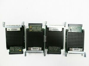 Lot-of-4-Cisco-VIC2-4FXO-4-port-High-Density-Digital-Voice-Fax-Network-Modules