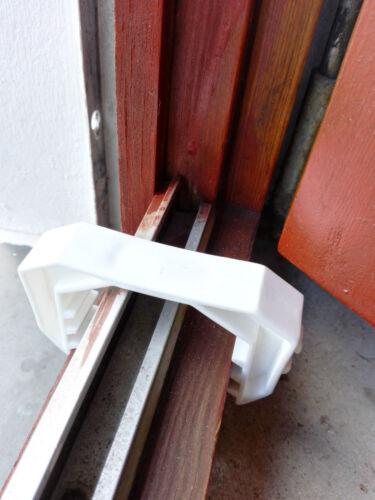 1-6 Fensterklammer dünne Fenster Stopper Haus Geruch Lüftung schmal