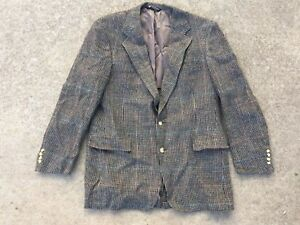 Vintage Mens Austin Reed Regent St Wool Tweed Blazer Dillards Pub Crawlers Usa L Ebay