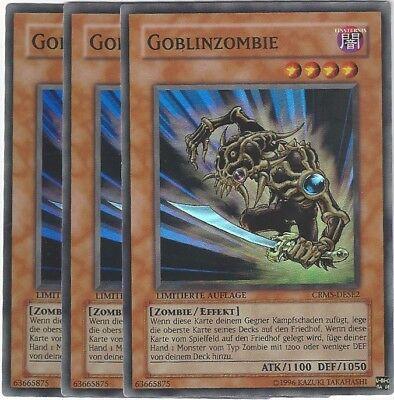 Yu Gi Oh Auflage Foil 3 Karten! 5 Mutanten-Gedankenbeherrscher PTDN-DESE1 Ltd