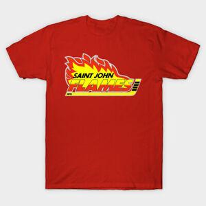 Saint John Flames AHL hockey t-shirt Sea Dogs Calgary