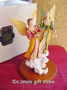 Willitts-Designs-HISTORY-OF-ANGELS-MUSICAL-ANGELS-by-Bill-Dale-LE-MIB-w-COA