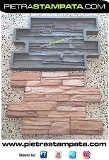 Polyurethane rubber molds concrete mold veneer stone mold concrete wall mould
