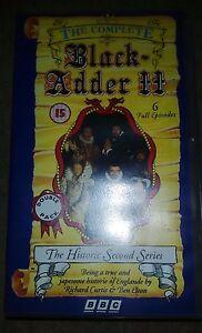 BlackAdder II VHS 1992  The Historic Second Series Video Tape BBCV4785 - Nottingham, United Kingdom - BlackAdder II VHS 1992  The Historic Second Series Video Tape BBCV4785 - Nottingham, United Kingdom