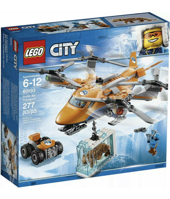 60193 ARCTIC AIR TRANSPORT lego set LEGOS city town NEW expedition PROP PLANE