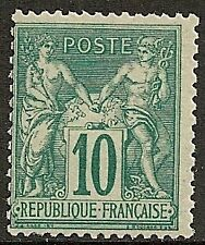 France 1876 YV 76  MNH  VF  SCARCE!