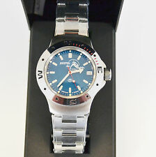New VOSTOK Russian Amphibian 200m Diver Automatic Mens Watch #060059- US SELLER