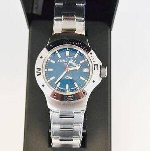 New-VOSTOK-Russian-Amphibian-200m-Diver-Automatic-Mens-Watch-060059-US-SELLER