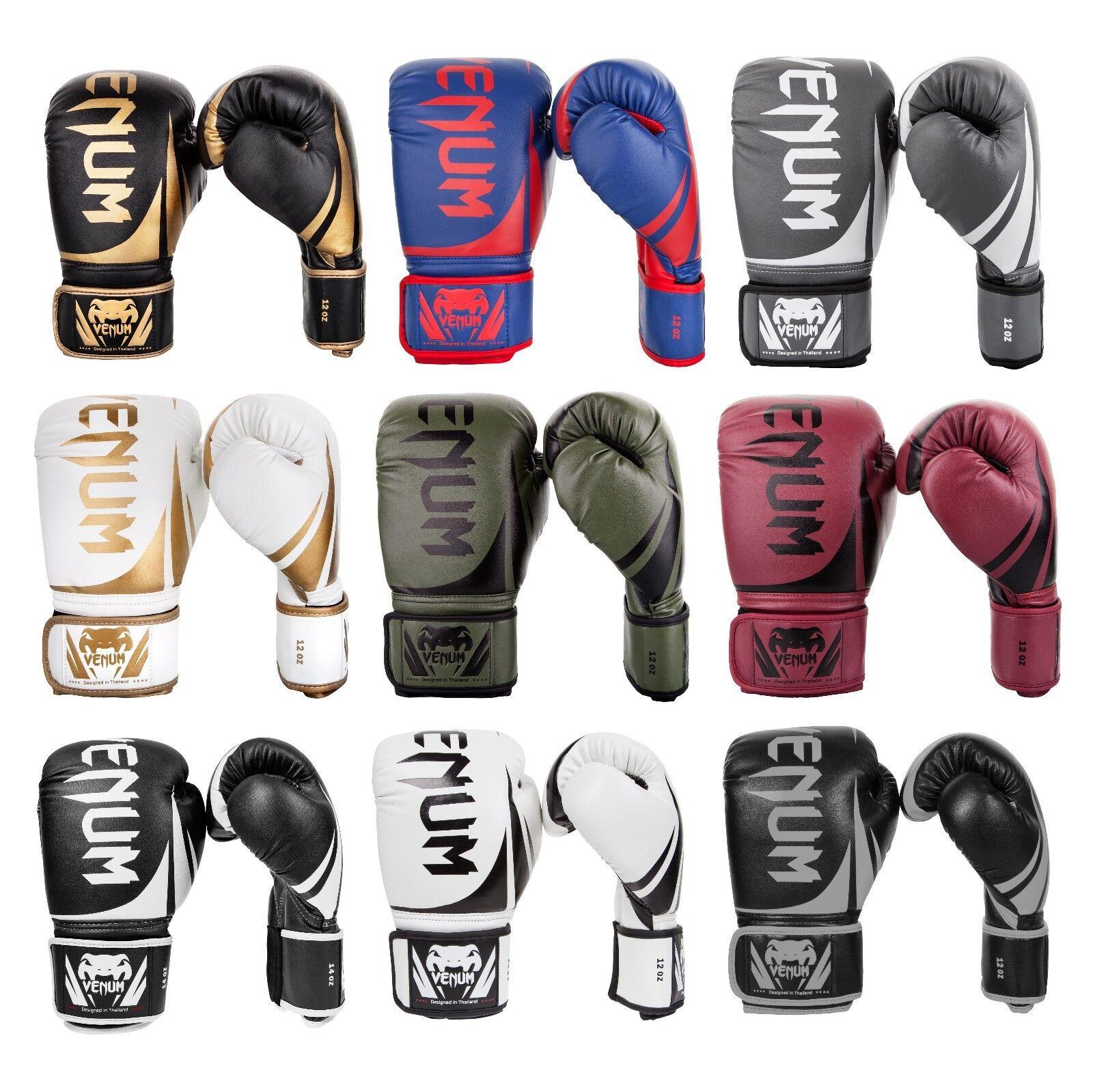 Venum Challenger 2.0 Boxing Gloves Sparring MMA 14 Muay Thai 8 10 12 14 MMA 16oz 2438de