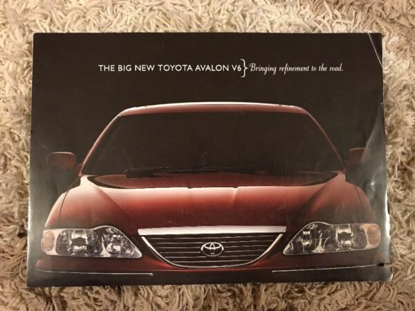 2004 Toyota Avalon V6 Auto Opuscolo (australia)