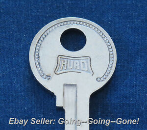 Original Hurd Ford Lincoln Mercury Key Blank 1932 1951 H4 1125c Trunk Gb Tire Ebay