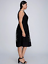 Lane-Bryant-Lace-Fit-Flare-Dress-Ribbed-Trim-14-22-26-28-Black-Evening-1x-3x-4x thumbnail 2