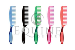 Harlequin Sturdy Plastic Comb Combs Brush Manes /& Tails Native Pony Grooming