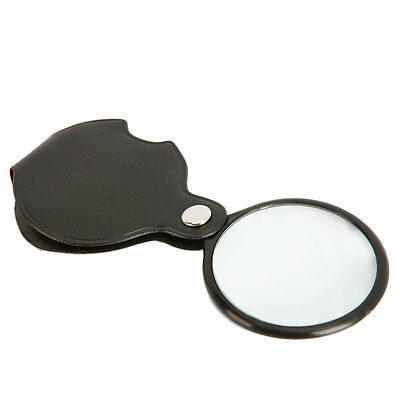Mini 8X Pocket Perfect-sized Folding Magnifing Glass Magnifier High-definition