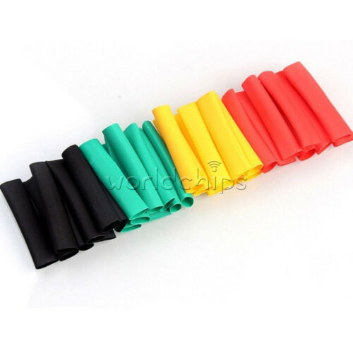 164PCS Polyolefin Heat Shrink Tube Tubing Insulated Sleeve Assorted Wire Cable