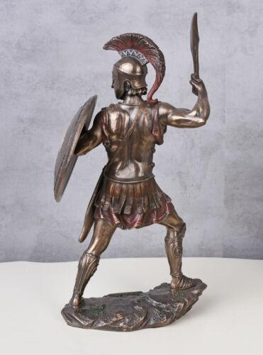 Krieger Skulptur Soldat Figur Sparta Leonidas spartanisches Heer Kämpfer Statue