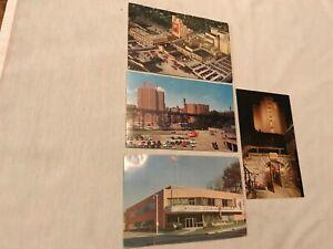 4-Different-1950-s-Miller-Beer-Postcards