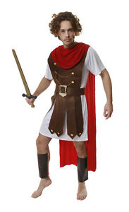FANCY DRESS ROMAN GENERAL SOLDIER ARMY COSTUME FITS 44/""