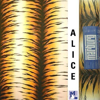 "SALE! MARBURG ""ALICE"" Vlies Tapete Tierfell Tiger b/g 78221 (GP € 2,24/m²)"