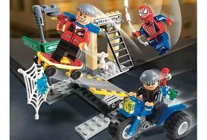 LEGO-Spider-Man-Super-Rare-Spiderman-039-s-Street-Chase-4853