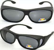 Polarised Over Prescription Glasses Sunglasses UV400 Wrap Around Sun Shields