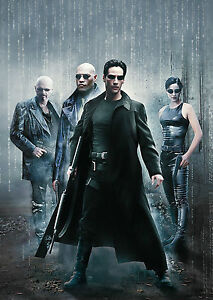 The Matrix Vintage Movie Giant Poster - A0 A1 A2 A3 A4 Sizes