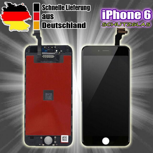 Ersatz LCD Für iPhone 6 Display Black Retina Bildschirm Glas Scheibe TouchScreen