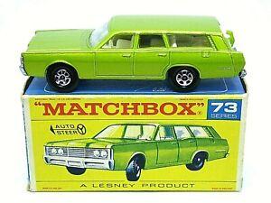 Matchbox-Lesney-No-73c-Mercury-Commuter-en-tipo-034-F1-039-con-034-nuevo-034-Caja-Tapon
