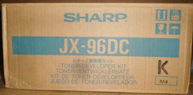 Sharp JX-96DC Toner Developer Kit 9400 FO3400 JX 9400 9600 9640 9660 PS 9685  C