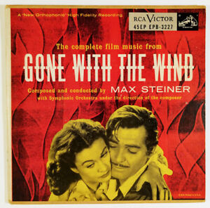 Max-Steiner-Complete-Film-Music-Gone-With-The-Wind-2-x-7-034-45-RPM-EP-soundtrack
