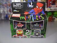 Diamond Select Toys Marvel MiniMates Series 27 Mini Figure 2-Pack Ultimate Hulk Ultimate Iron Man - 699788719770 Toys
