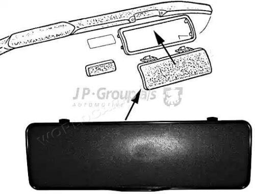 New Glove Compartment Fits VW Transporter T2 221857121A