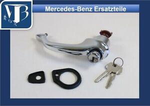 Original-Mercedes-W121-190SL-Door-Handle-Left-with-Underlays-New