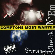Compton's Most Wanted - Straight Checkn'em [New CD]
