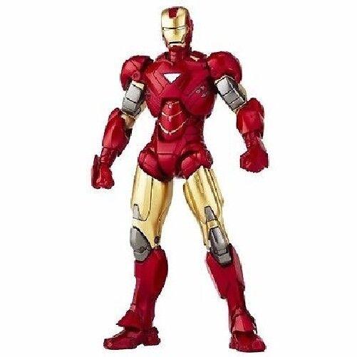 Tokusatsu Revoltech No.024 Iron Man 2 Iron Man Mark VI  (6) Figure KAIYODO  moins cher