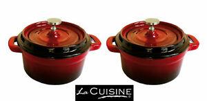 Amour Mini Stoneware Cocotte Casserole Lasagne Oven Cooking Dish Pot
