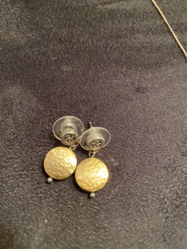 Brighton earrings Two Tone